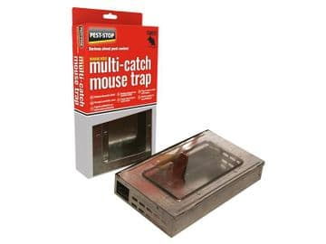 Multi-Catch Humane Mouse Trap Metal